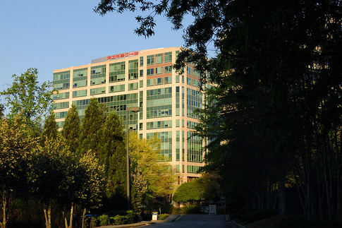 PCNA's current suburban location in Sandy Springs, Georgia. Photo by Bob Chapman/AutosportImage.com