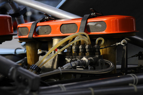 908/3 breathing apparatus. Photo by Bob Chapman/AutosportImage.com