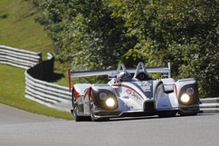 Klaus Graf/Romain Dumas Muscle Milk Porsche RS Spyder. Photo courtesy PCNA