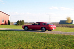 This 928 was the sixth built. According to a letter from Porsche, it was one of ten pre-series models, used as a press car. In this photo, current owner Jim Doerr takes delivery of the same 928 years later. Photo courtesy Jim Doerr