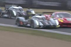 24 Hours of Le Mans: Dunlop corner 0