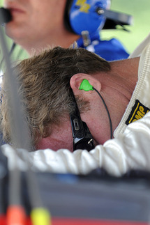 Sometimes, the frustration is just too much to bear. Photo by Bob Chapman/AutosportImage.com