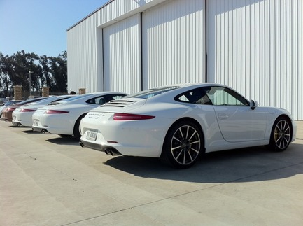 First Drive: The New 911 5