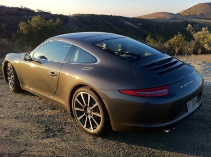 First Drive: The New 911 9