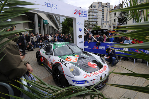 Prospeed RSR is next to enter the scrutineering line.