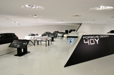 Porsche Design exhibition at the Porsche Museum in Stuttgart. Photo courtesy Porsche