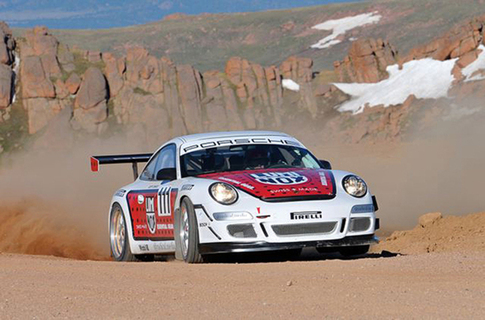 After Zwart's success this year, other professional race car drivers, such as Patrick Long and Wolf Henzler, have expressed interest in racing at Pikes Peak. Photo by Rupert Berrington