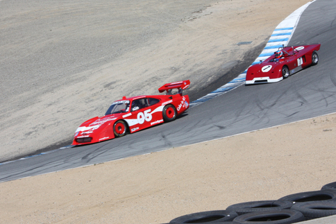 George Follmer drops down the Corkscrew in The Last 935. Photo by Damon Lowney