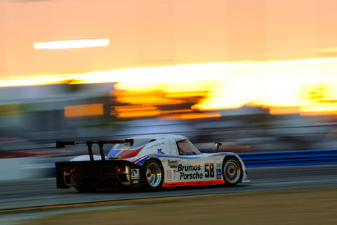Darren Law co-drove the #58 Brumos Porsche Daytona Prototype with David Donohue for the 2010 season of the GRAND-AM Rolex Series. He will drive for the same team next year. Photo by Bob Chapman