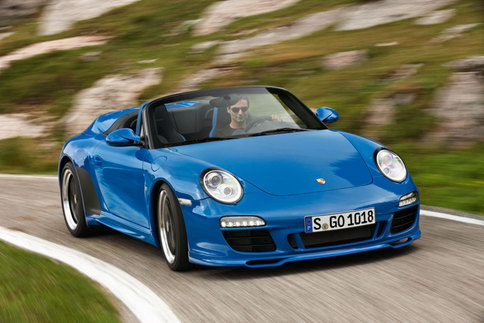 Limited edition 911 Speedster model to be added to 997 lineup 1