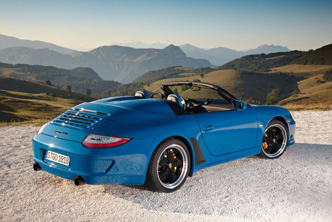Limited edition 911 Speedster model to be added to 997 lineup 2