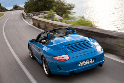 Limited edition 911 Speedster model to be added to 997 lineup 3