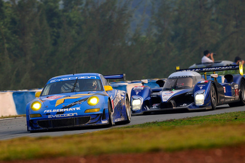 Porsche's Hybrid race car finishes ahead of GT2 9