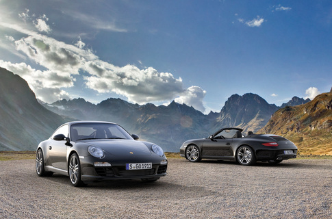 Porsche announces 911 Black Edition 1