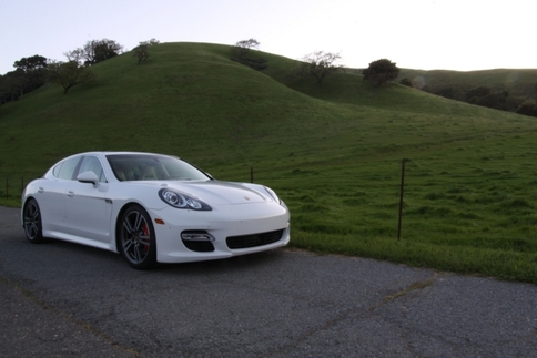 2011 Panamera Turbo. Photo by Damon Lowney