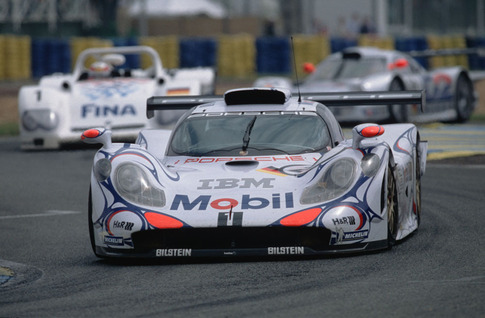 1998 Porsche 911 GT1, the last car with which Porsche won the 24 Hours of Le Mans overall. Photo courtesy Porsche