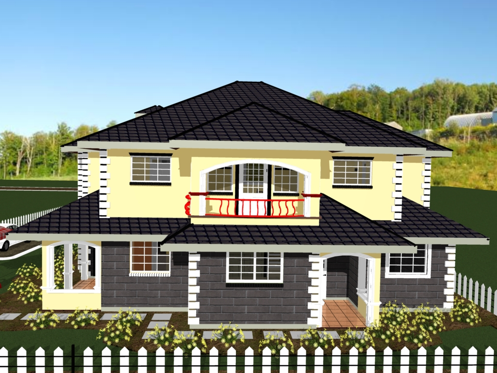Modern one bedroom house plans on 3 bedroom house designs kenya