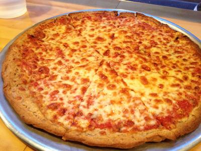 Fuel Pizza's Gluten Free Pie