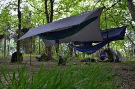 group hammock camping