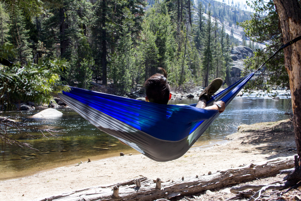 Hammock camping in solitude. the views are beat tents any day