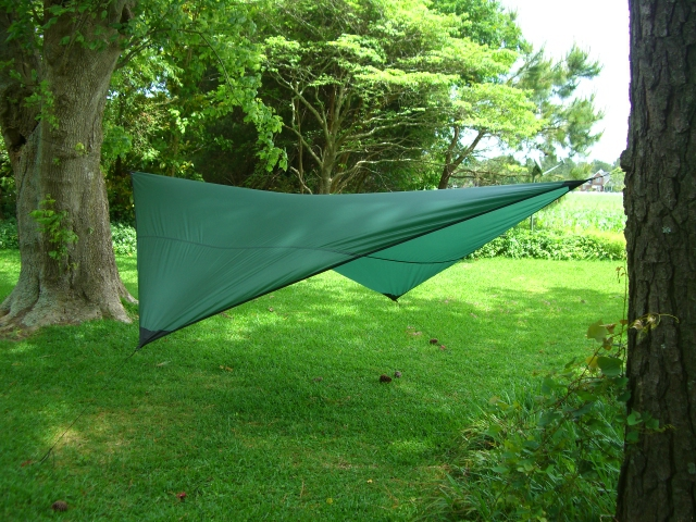 Diamond hammock rain fly