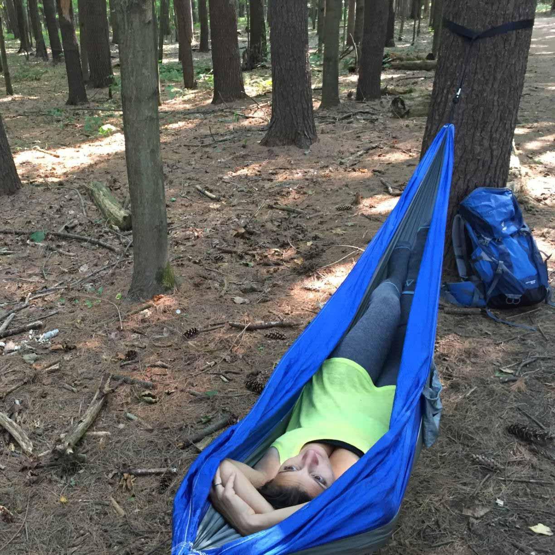 The Rispoli's customer review on serac ultralight camping hammock