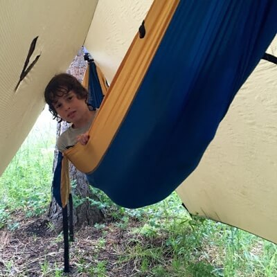 danny griffis reviews the serac sequoia camping hammock