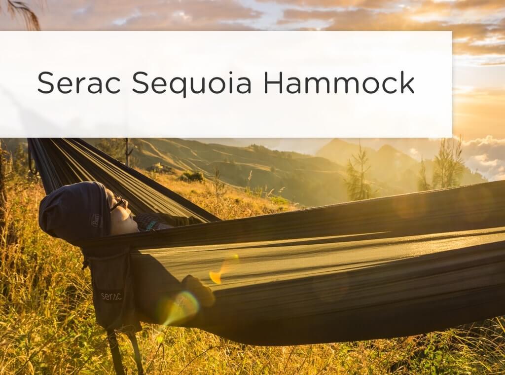 serac sequoia camping hammock store