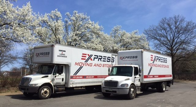 express moving and storage va