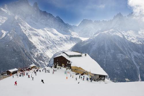Chamonix ski.........