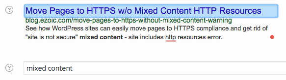 improve search ranking for content