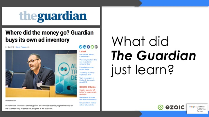 the guardian internet ads - internet advertising