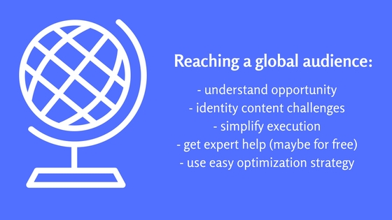 how to grow web traffic globally