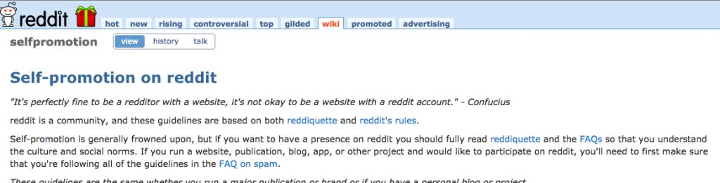 reddit spam