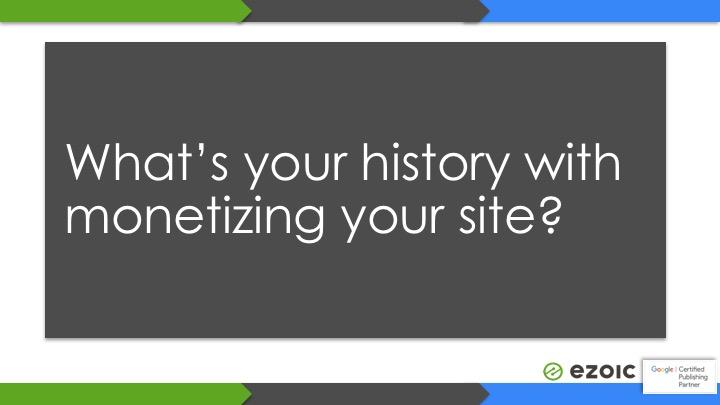 monetizing website