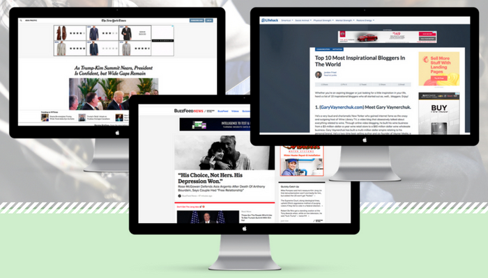 Website Layout Ideas & Tips From Top Publishers & Blogs
