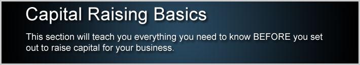 Capital Raising Basics