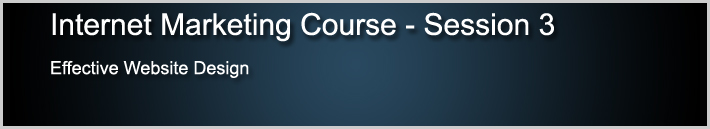 Internet Marketing Course 3
