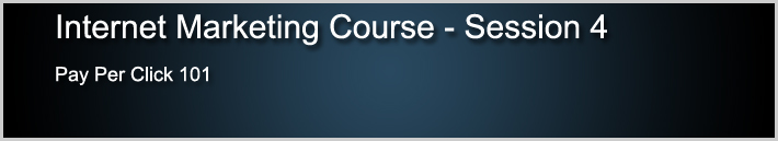 Internet Marketing Course 4