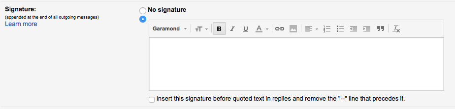 How To Create/Edit Your Email Signature - HHG Support