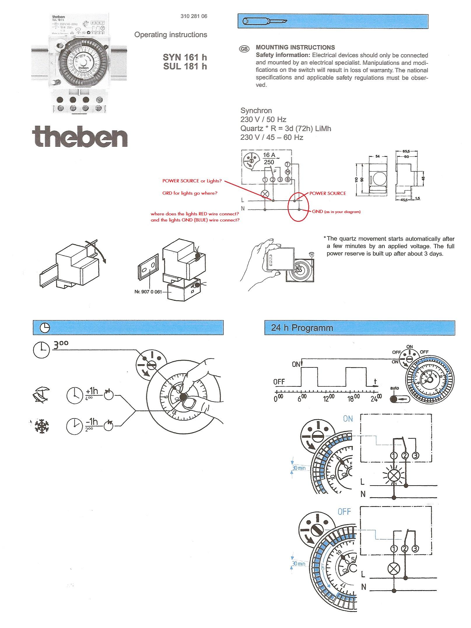 Grasslin Defrost Timer Wiring Diagram Nilzanet – Time Clock Wiring Diagram