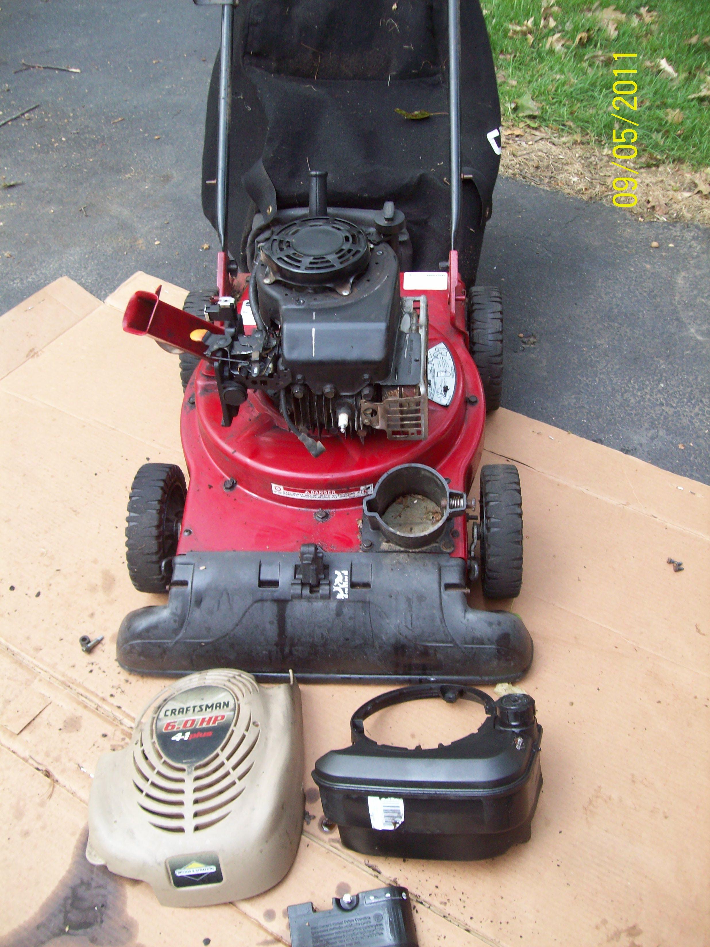 Craftsman Yard Vacuum 4 5 : Hello i have a craftsman in yard vac started it