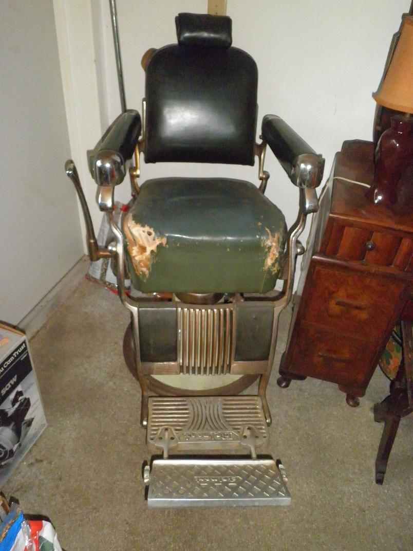 My Mother In Law Has A 1950 Belmont Barber Chair Shes Wanting