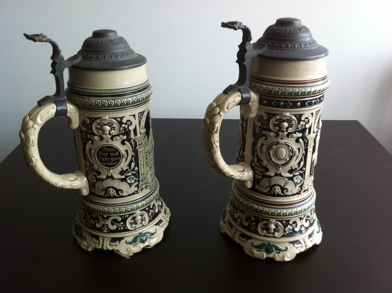 Antique German Stein S Value Bing Images