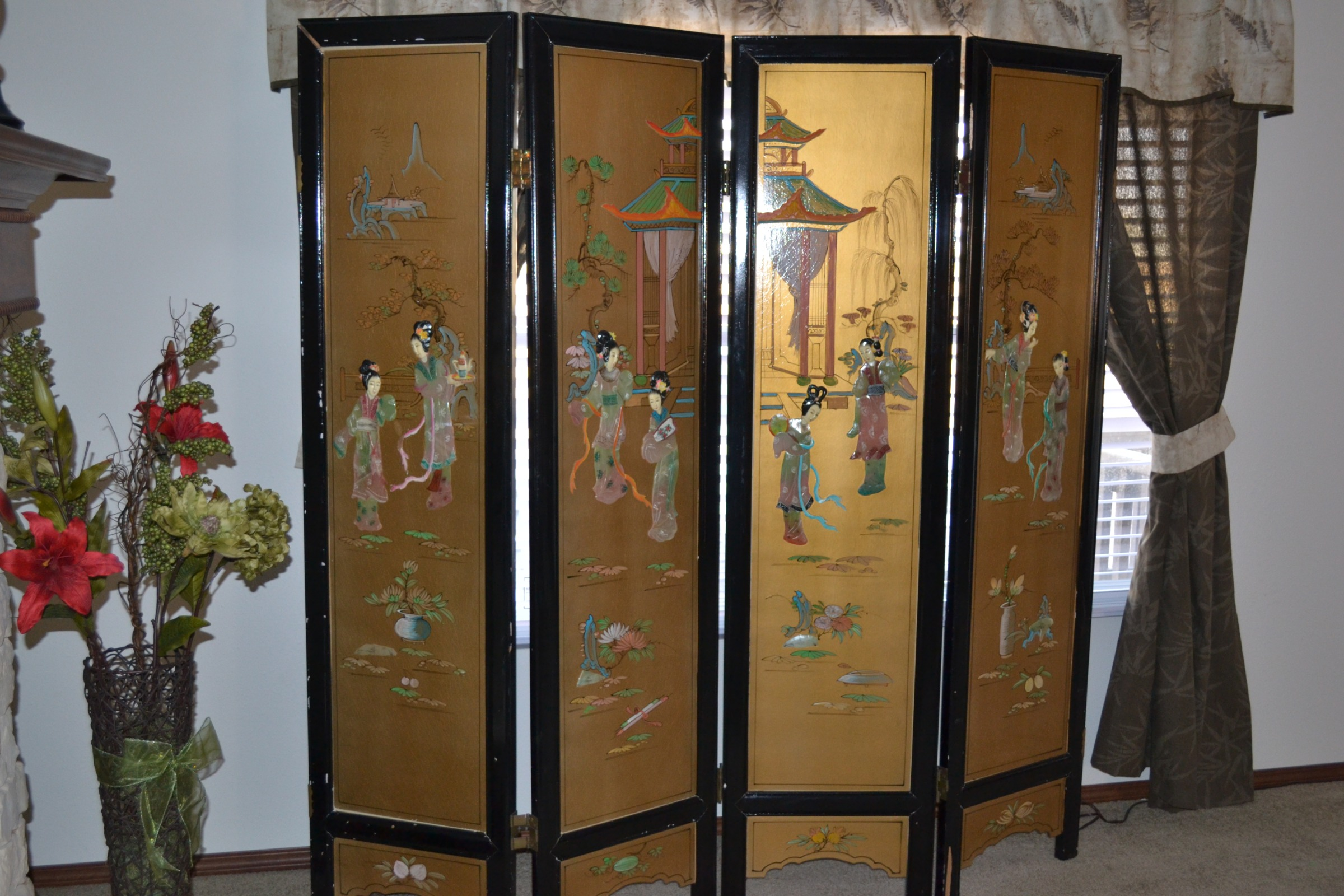 I Have A Hand Painted Japaneese Room Divider How Can I Find