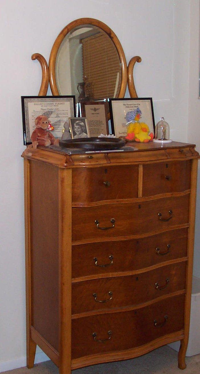 I have my great aunts birdseye maple bedroom set highboy for Good value bedroom furniture