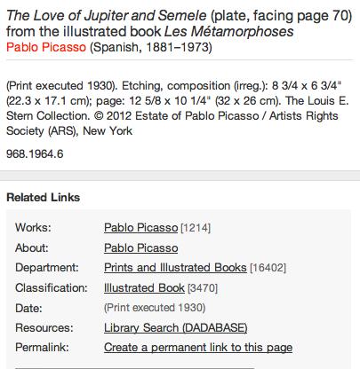 Jupiter And Semele Print of Jupiter And Semele by