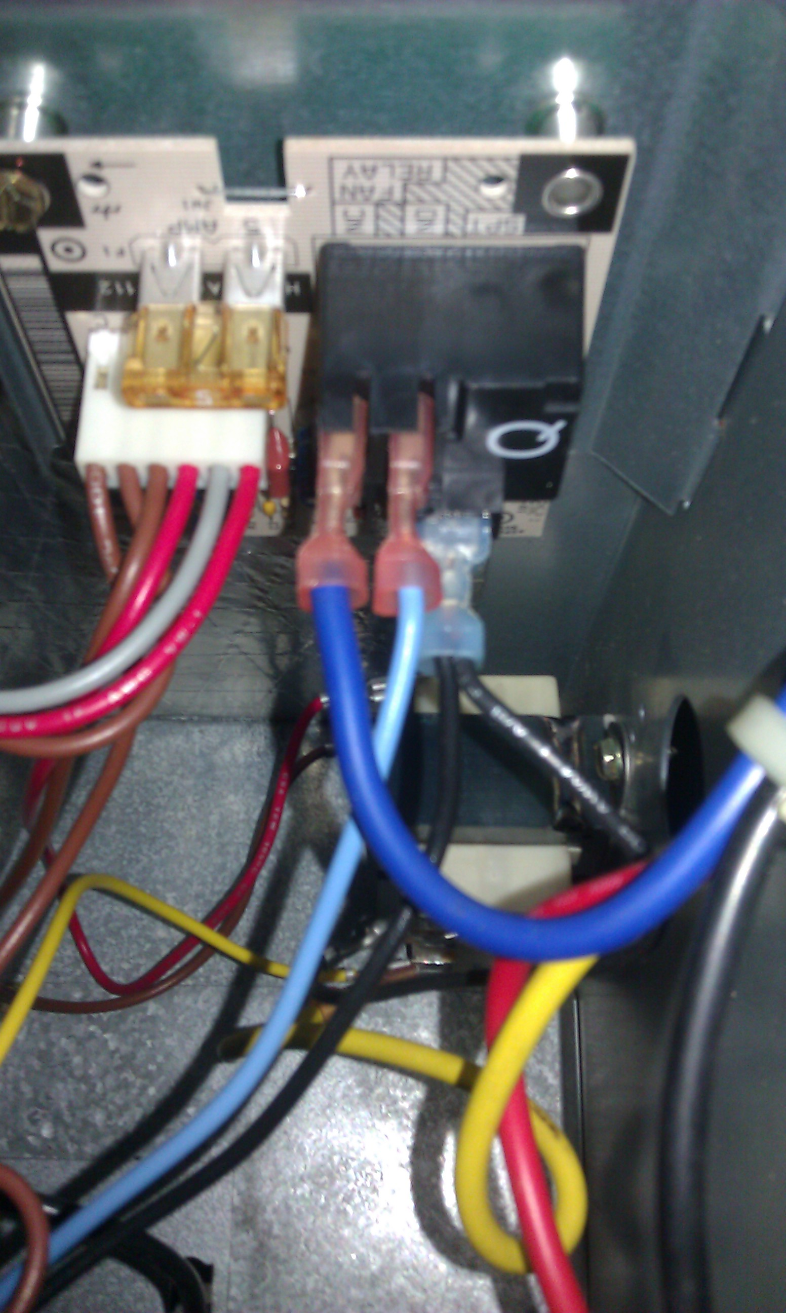 I Need A Wiring Diagram For The Blower Relay On A Heil Ebx