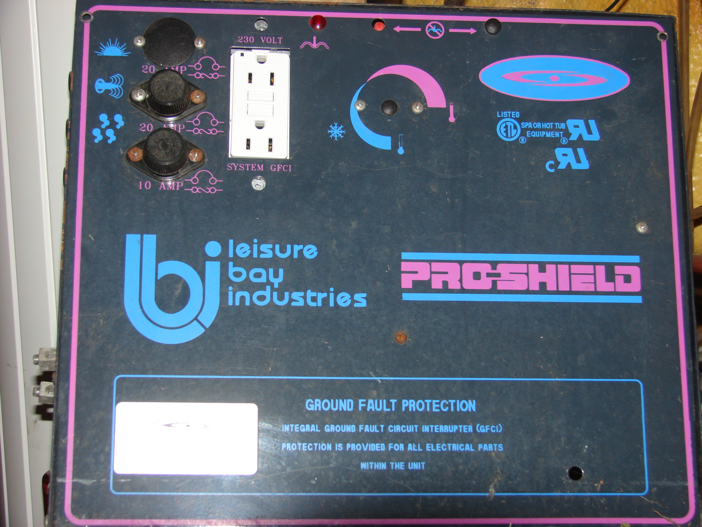 I have a Leisure Bay Pro Shield Hot tub model XXXXX