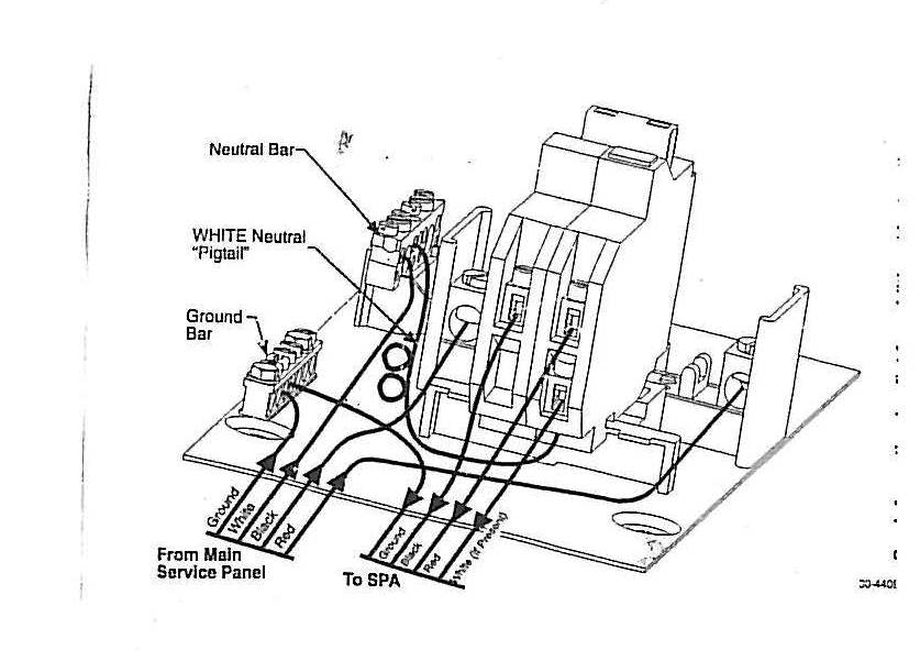 eaton 50 gfci breaker wiring diagram